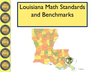 Louisiana Math Standards and Benchmarks