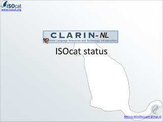 ISOcat  status
