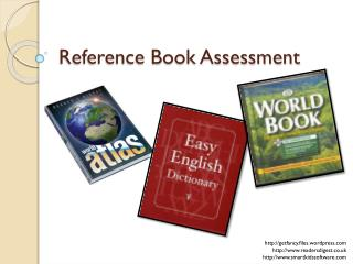 Reference Book Assessment