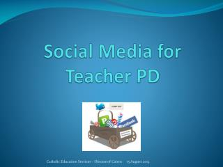 Social Media for Teacher PD