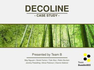 DECO LINE - CASE STUDY -