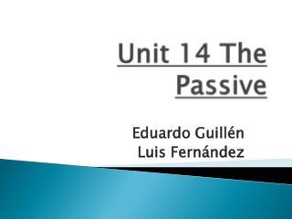 Unit 14 The Passive