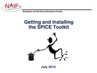 Getting and Installing the SPICE Toolkit