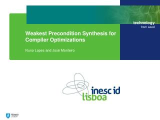 Weakest Precondition Synthesis for Compiler Optimizations
