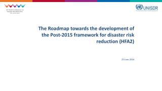 Hyogo Framework for Action – 2005-2015