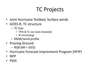 TC Projects