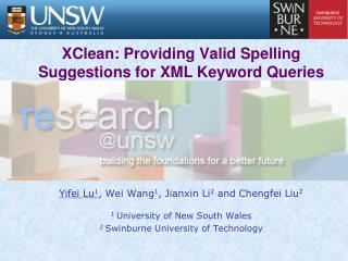 XClean: Providing Valid Spelling Suggestions for XML Keyword Queries