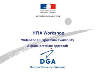 HFIA Workshop