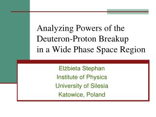 Analyzing Powers of the Deuteron-Proton Breakup  in a Wide Phase Space Region