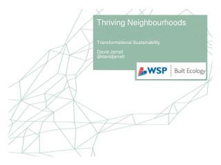 Thriving Neighbourhoods