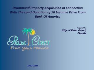 Prepared for City of Palm Coast, Florida