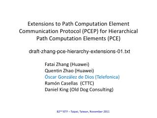 draft-zhang-pce-hierarchy-extensions-01.txt