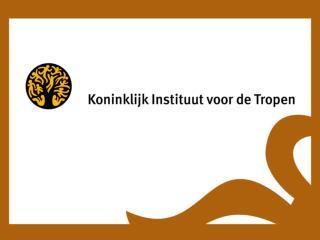 Koninklijk Instituut voor de Tropen, Amsterdam