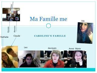 Ma  Famille  me