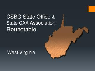 CSBG  State Office  & State CAA  Association Roundtable