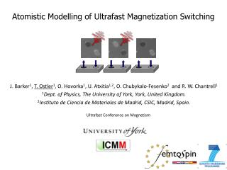 Atomistic Modelling of Ultrafast Magnetization Switching