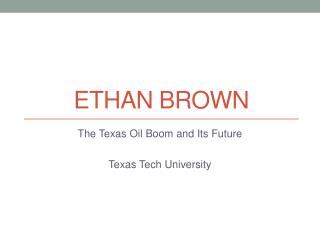 Ethan Brown