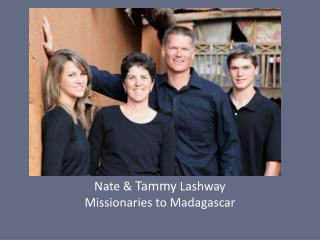 Pray for Nate & Tammy Lashway