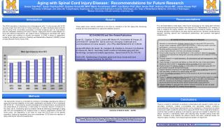 Aging  with Spinal Cord  Injury/Disease:  Recommendations  for Future  Research