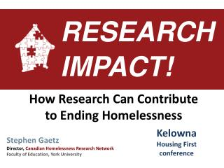 RESEARCH IMPACT!