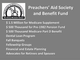 Preachers� Aid Society and Benefit Fund