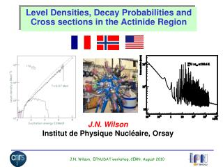 Level Densities, Decay Probabilities and Cross sections in the Actinide Region