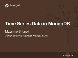 Time Series Data in MongoDB