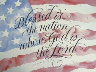 Blessed is the Nation  -  Psalm 33