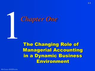The Changing Role of Managerial Accounting in a Dynamic Business Environment