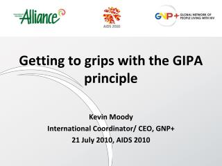 Getting to grips with the GIPA principle