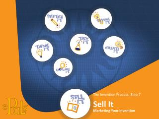 The Invention Process: Step 7 Sell It Marketing Your Invention