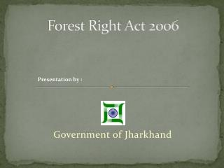 Forest Right Act 2006