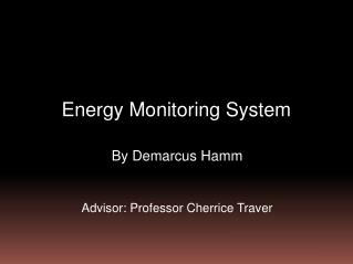 Energy Monitoring System