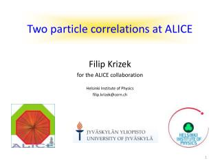 Two particle correlations at ALICE