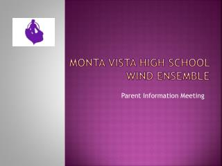 Monta Vista High School Wind ensemble