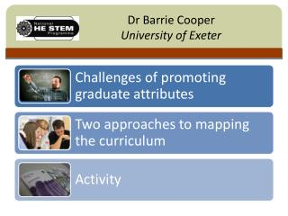 Dr Barrie Cooper University of Exeter