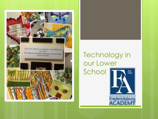 Technology in our Lower School