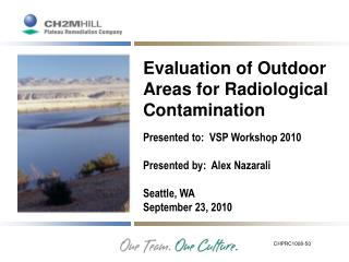 Evaluation of Outdoor Areas for Radiological Contamination