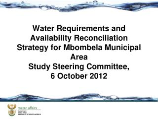 Water Resources Infrastructure and  Supply