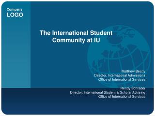 The International Student Community at IU