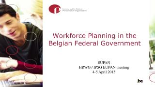 Workforce Planning  in the Belgian Federal Government