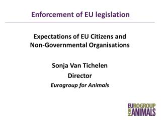 Enforcement of EU legislation