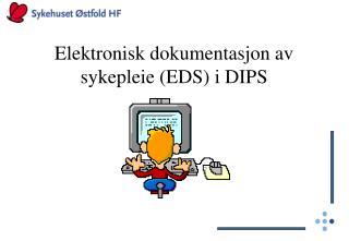Elektronisk dokumentasjon av sykepleie EDS i DIPS