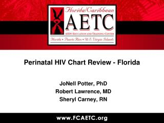 Perinatal HIV Chart Review - Florida