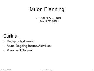 Muon  Planning