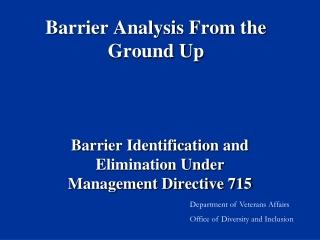 Management Directive 715