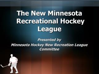 The New Minnesota Recreational Hockey League