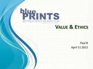 Value & Ethics