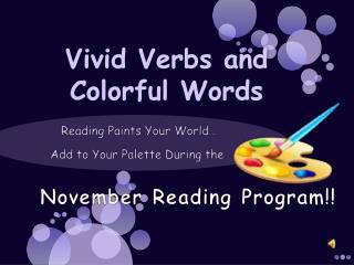 November Reading Program!!