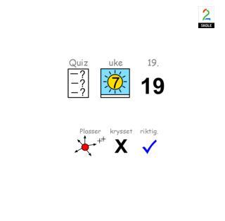 ASK quiz uke 19